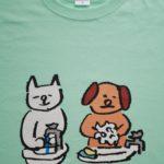 とんち物産アンテナショップ謹製「手洗い」Tシャツ